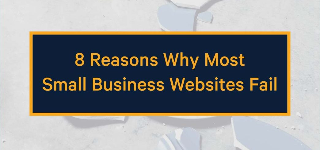 reasons why small business websites fail
