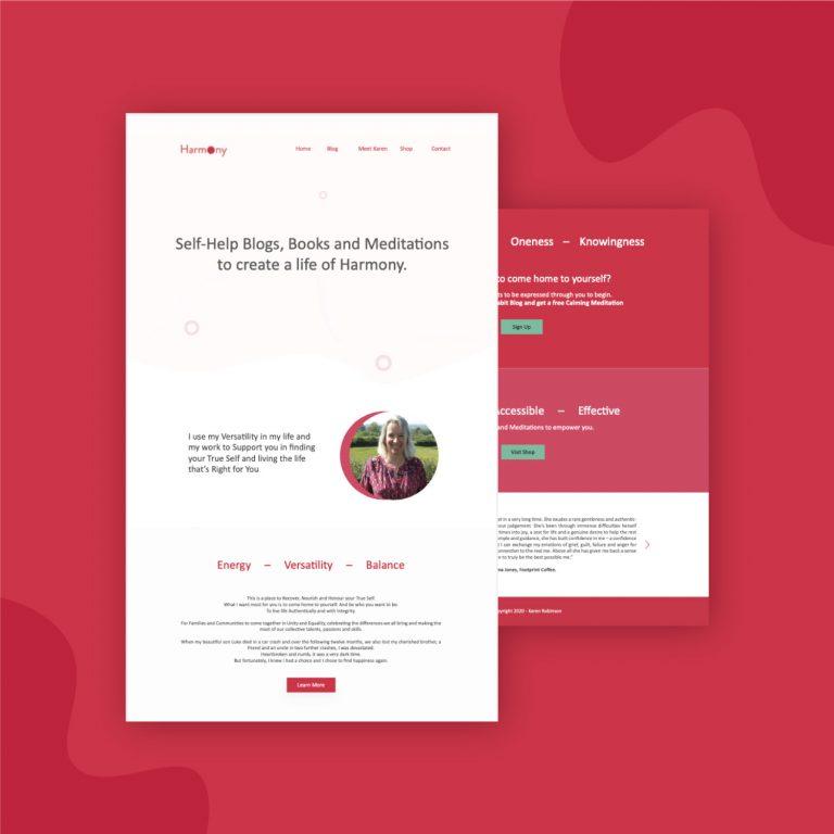 build life coach website